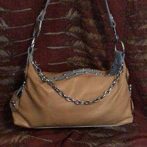 Kathy Van Zeeland Chain & Studs Bag
